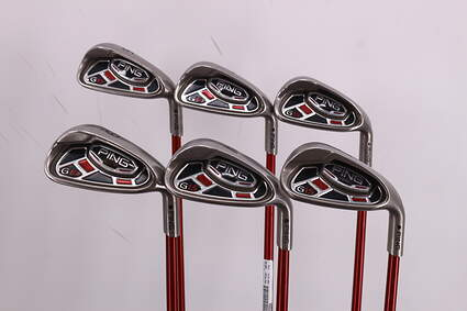 Ping G15 Iron Set 6-PW GW Ping TFC 149I Graphite Regular Right Handed Black Dot 37.25in