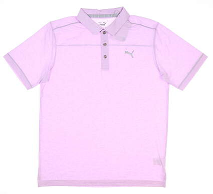 New Mens Puma Rancho Golf Polo Medium M Lupine MSRP $65 598542 11