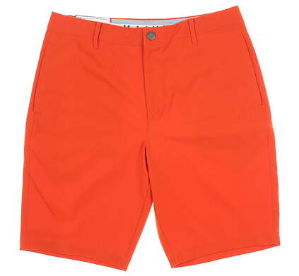 New Mens Puma Jackpot Golf Shorts 32 Orange MSRP $65 578182