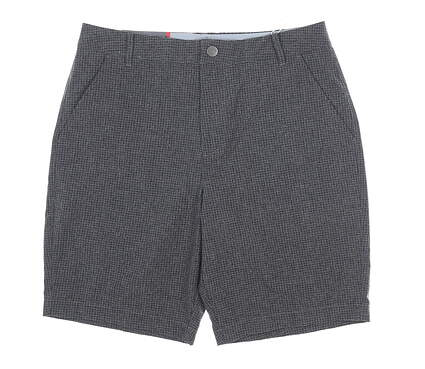 New Mens Puma Check Shorts 32 Quiet Shade MSRP $75 597604 01