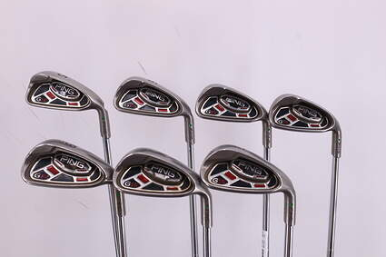 Ping G15 Iron Set 5-PW GW FST KBS Tour Steel Regular Right Handed Green Dot 37.5in