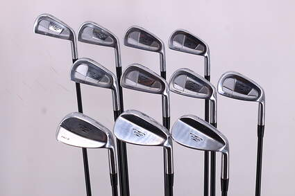 Mizuno T-Zoid Pro II Forged Iron Set 2-SW Grafalloy ProLogic Graphite Regular Right Handed 39.75in
