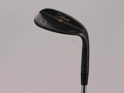 Titleist Vokey SM5 Raw Black Wedge Lob LW 60° 11 Deg Bounce K Grind Titleist SM5 BV Steel Wedge Flex Right Handed 35.0in