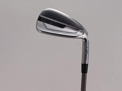 Ping G700 Single Iron 7 Iron Aerotech SteelFiber i95 Graphite Stiff Right Handed Green Dot 37.0in