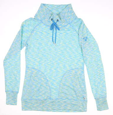 New W/ Logo Womens Straight Down Sweatshirt Small S Multi MSRP $85 W60294