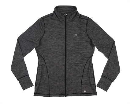 New W/ Logo Womens Straight Down Jewel 2.0 Jacket Medium M Black MSRP $94 W60312
