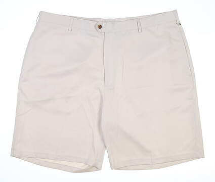 New Mens DONALD ROSS Golf Shorts 42 Stone MSRP $80