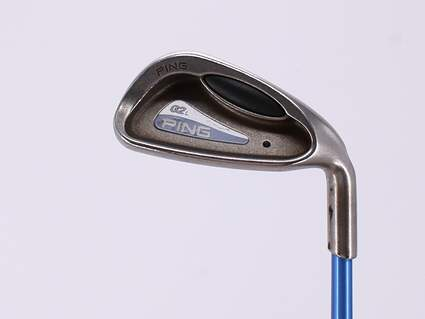 Ping G2 Single Iron 9 Iron Ping ULT 50I Ladies Graphite Ladies Right Handed Black Dot 35.25in