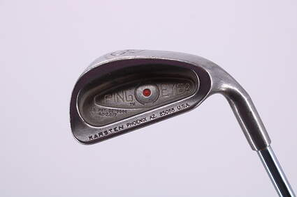 Ping Eye 2 Single Iron 6 Iron Ping ZZ Lite Steel Stiff Right Handed Red dot 37.25in