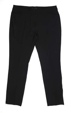 New Womens Adidas Full Length Pants 16 Black MSRP $90 DQ2136
