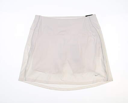 New Womens Nike Golf Shorts Large L White MSRP $60 CU9399-100