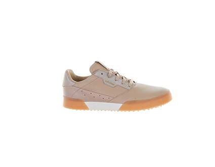 New W/O Box Womens Golf Shoe Adidas Adicross Retro 7 Nude MSRP $90 FW5624