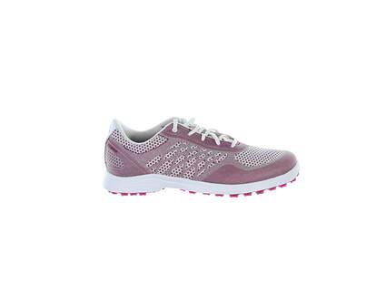 New W/O Box Womens Golf Shoe Adidas Alphaflex Sport Spikeless 7 Purple MSRP $100 FX4060