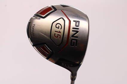Ping G15 Driver 10.5° Cobra Diamana D-Series White Graphite Stiff Right Handed 44.75in