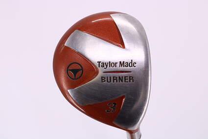 TaylorMade 1998 Burner Fairway Wood 3 Wood 3W Stock Steel Shaft Steel Regular Right Handed 42.75in
