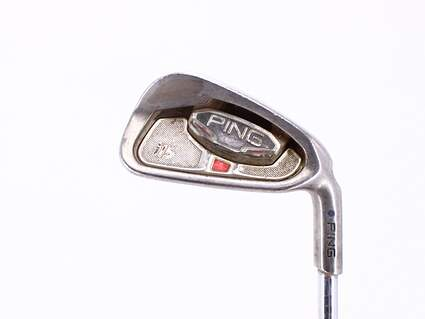 Ping i15 Single Iron 6 Iron Ping AWT Steel Regular Right Handed Blue Dot 37.25in