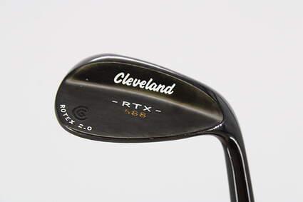 Cleveland 588 RTX 2.0 Black Satin Wedge Gap GW 54° True Temper Dynamic Gold Steel Wedge Flex Right Handed 35.5in