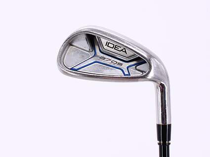 Adams Idea A7 OS Single Iron 9 Iron Stock Graphite Shaft Graphite Ladies Right Handed 34.5in