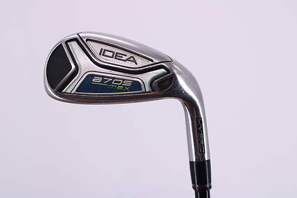Adams Idea A7 OS Max Single Iron Pitching Wedge PW ProLaunch AXIS Blue Graphite Regular Right Handed 34.0in