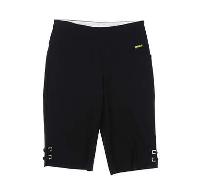 New Womens Swing Control Golf Shorts 12 Black MSRP $102 M2003