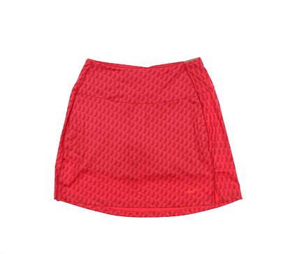 New Womens Nike Golf Skort Small S Red MSRP $75 DA3100-643