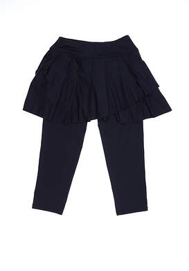 New Womens Jo Fit Skirted Capri Tights XX-Small XXS Navy Blue MSRP $128 UB0012-MDN