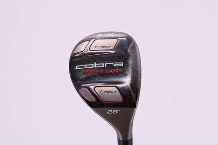 Cobra T-Rail + Hybrid 6 Hybrid 28° Graphite Design G-Series G65 Graphite Senior Right Handed 39.0in