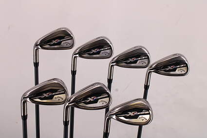 Callaway XR Iron Set 5-PW GW Project X SD Graphite Regular Left Handed 39.0in