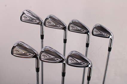 Callaway 2013 X Forged Iron Set 4-PW Project X Pxi 6.0 Steel Stiff Right Handed 38.0in