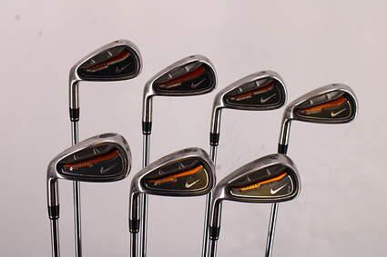 Nike Ignite Iron Set 4-PW Nike True Temper Ignite Steel Uniflex Left Handed 37.75in