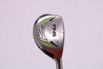 Ping Rapture V2 Hybrid 3 Hybrid 20° Ping AWT Steel Stiff Right Handed 39.0in