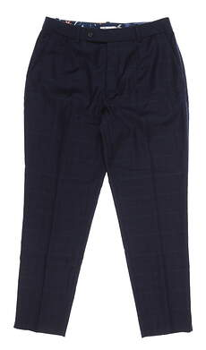 New Womens Peter Millar Pants 6 Navy Blue MSRP $225 LF19B04