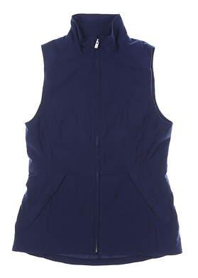 New Womens Peter Millar Vest X-Small XS Navy Blue MSRP $199 LF18Z01