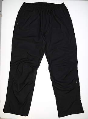 New Mens SUNICE Golf Wind Pants XX-Large XXL Black MSRP $150 6643