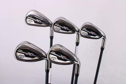 Callaway XR Iron Set 7-PW GW Project X LZ Graphite Regular Right Handed 37.5in