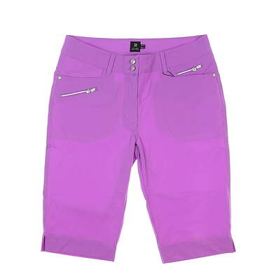 New Womens Daily Sports Miracle Shorts 10 Purple MSRP $135 783-216