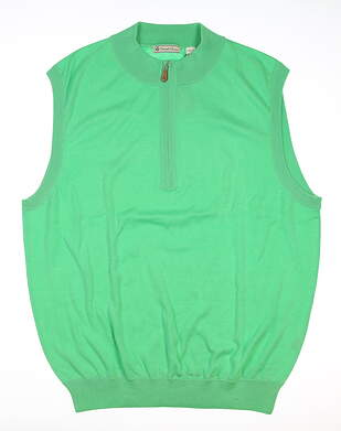 New Mens DONALD ROSS Sweater Vest Medium M Green MSRP $115 DR360V-116
