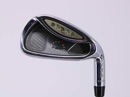 TaylorMade Rac OS Single Iron 6 Iron Stock Steel Regular Right Handed 37.25in