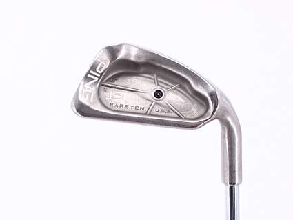 Ping ISI Single Iron 6 Iron Ping JZ Steel Stiff Right Handed Black Dot 37.25in