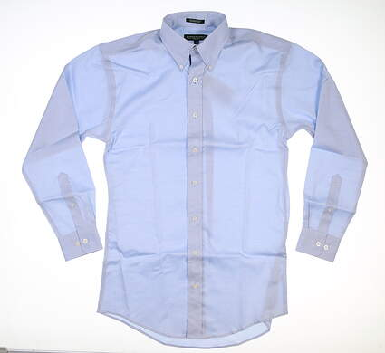 New Mens Fairway & Greene Button Down Large L Blue MSRP $125 D11421CW