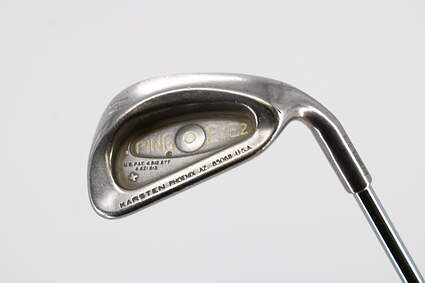 Ping Eye 2 Single Iron Pitching Wedge PW Stock Steel Shaft Steel Stiff Right Handed White Dot 37.0in