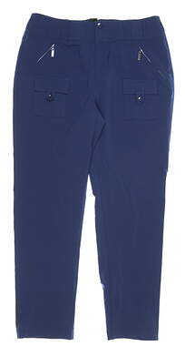 New Womens Jamie Sadock Golf Pants 8 Moonlit MSRP $120 81323