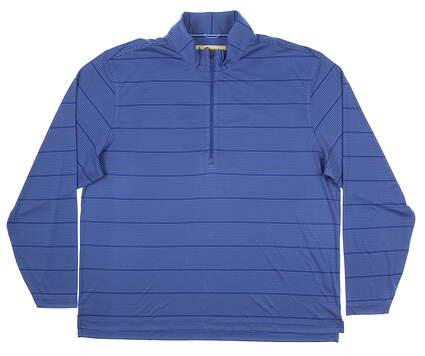 New Mens DONALD ROSS Fairway Pullover Large L Blue MSRP $145 DR211SLS-120