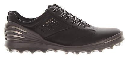 New Mens Golf Shoe Ecco Cage Pro 42 (8-8.5) Black MSRP $210 13300401001