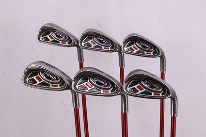 Ping G15 Iron Set 5-PW Ping TFC 149I Graphite Regular Right Handed Purple dot 38.0in