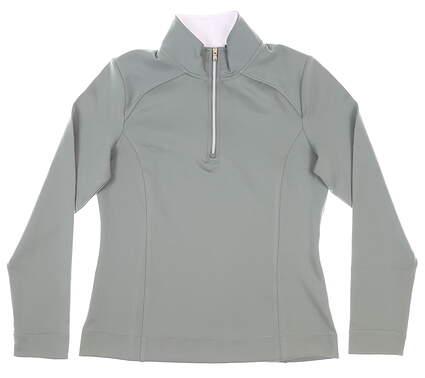 New Mens Fairway & Greene 1/4 Zip Pullover Medium M Gray MSRP $105 F12250