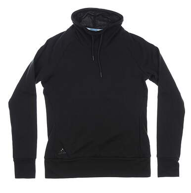 New Womens Adidas Pullover Layer Small S Black MSRP $70 FM6479