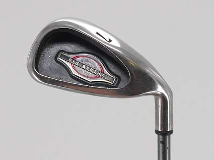 Callaway 2002 Big Bertha Single Iron 7 Iron Callaway RCH 75i Graphite Regular Right Handed 36.5in