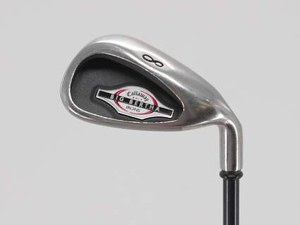 Callaway 2002 Big Bertha Single Iron 8 Iron Callaway RCH 75i Graphite Regular Right Handed 36.5in