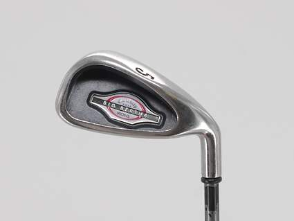 Callaway 2002 Big Bertha Single Iron 5 Iron Callaway RCH 75i Graphite Regular Right Handed 37.75in